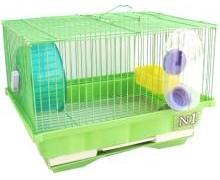 Клетка N1 для хомяка укомплектованная