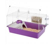 Клетка для грызунов Ferplast Cavie 80, фиолетовая