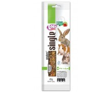 Lolo Pets Smakers с фруктами для грызунов Weekend Style 45гр