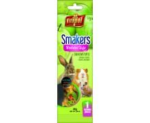 Vitapol Smakers с яблоком для грызунов и кролика в пакете Weekend Style, 45гр
