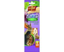 Vitapol Smakers с овощами для грызунов и кролика в пакете Weekend Style, 45гр