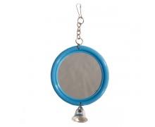 """Игрушка для птиц Triol 061KX """"Зеркало с колокольчиком"""""""
