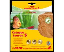 SERA Catappa Leaves (Листья индийского миндаля) S, 14см, 10 шт
