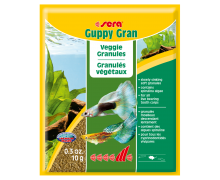 SERA Guppy Gran, 10 г