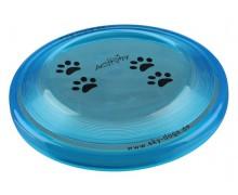 "Диск из пластика ""TRIXIE"" для дрессировки собаки ""Dog Disc"", 19 см"