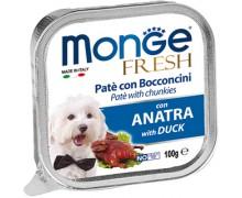 Monge Fresh Dog Duck (паштет из утки)