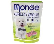 Monge Grill Pouch Lamb/Vegetables (ягненок/овощи)