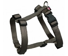 "Шлея ""TRIXIE"" для собак ""Premium H-harness"", темно-серая"