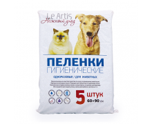 Le Аrtis пеленки впитывающие для животных 60х90 см